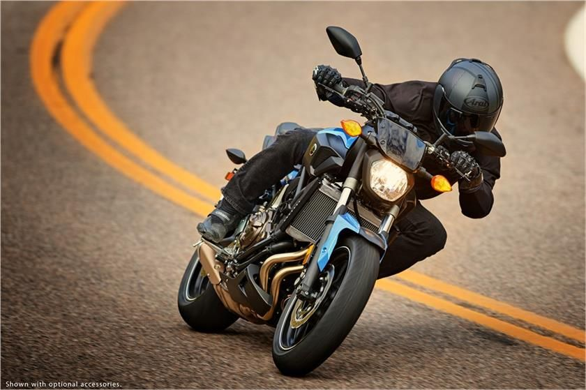 2017 Yamaha FZ-07 Hyper Naked Motorcycle - Model Home
