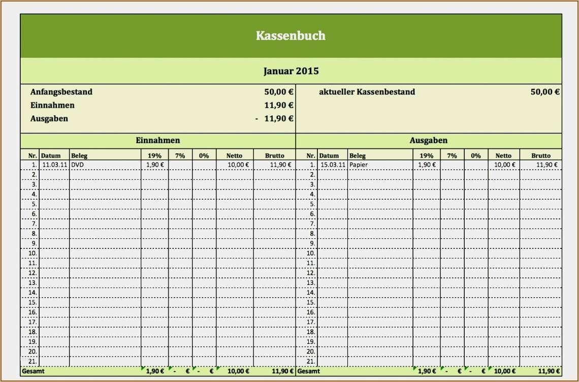 29 Elegant Vereinsbuchhaltung Excel Vorlage Vorrate In 2020 Kassenbuch Vorlage Kassenbuch Excel Vorlage