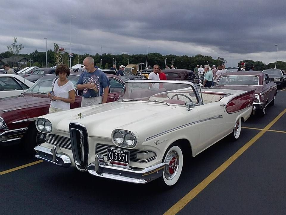 Edsel Retractable Convertible, you just don\'t see \'em (because Ford ...