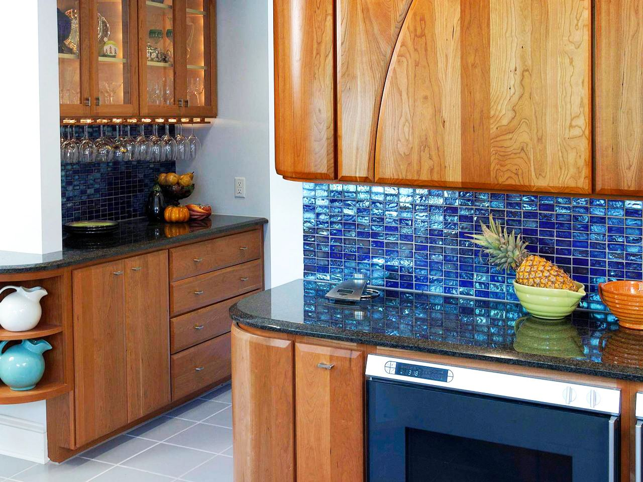 cost remodel kitchen with blue backsplash for small install pencil ...