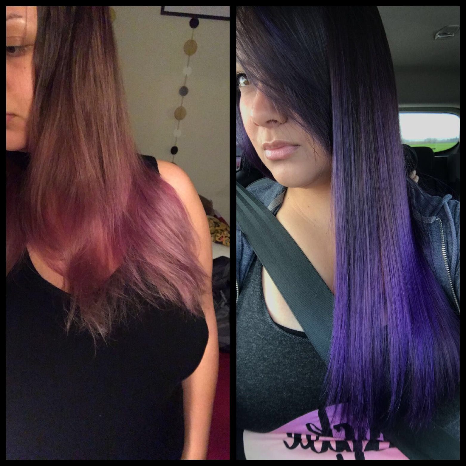 Extreme Purple Daily Conditioner Keep Your Purple Hair Dye Bright Dyed Hair Magenta Hair Bright Purple Hair
