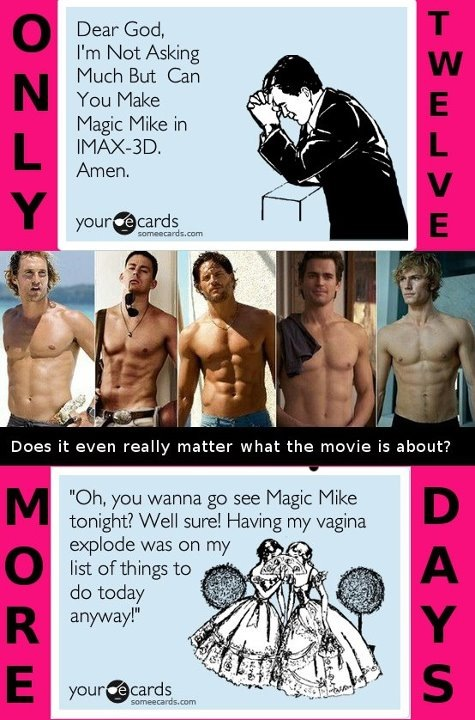 @Heather Creswell Dickens Magic Mike. ;)