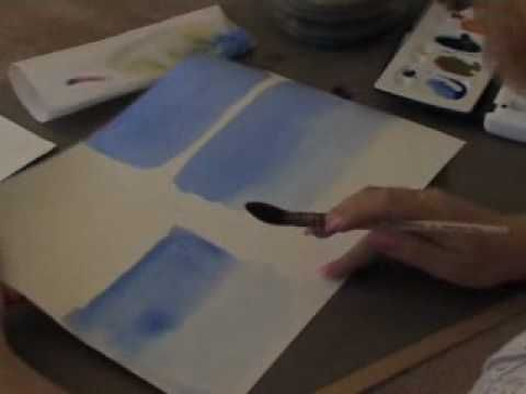Daler-Rowney Watercolour Washes Lesson