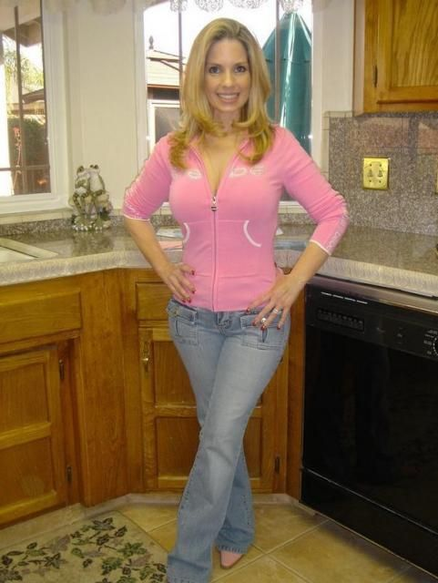 Mature blonde wife