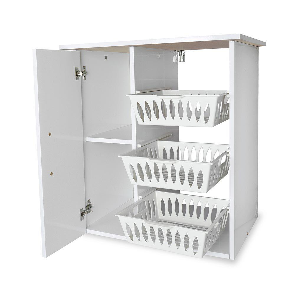 Mueble auxiliar para microondas con frutero 15 mm for Mueble 45 cm ancho