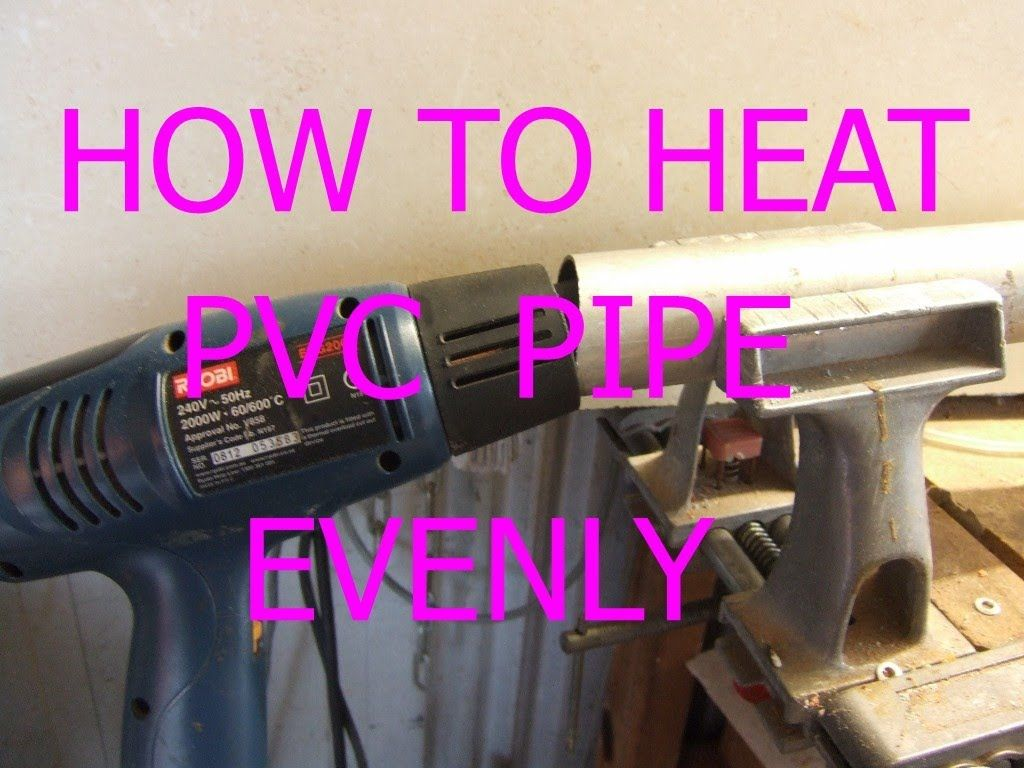 Simple Quick Way To Heat And Bend Plastic Pvc Pipe Now With Cc Electrical Conduit Pipespvc Conduitpvc