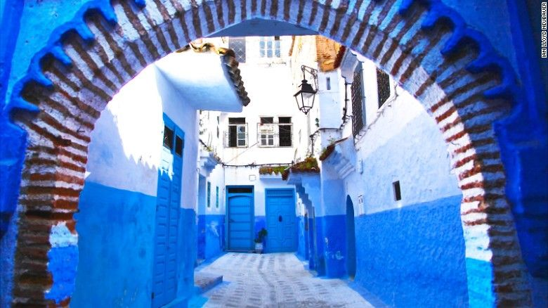 I'm Blue... (All Blue City in Morocco) - Album on Imgur