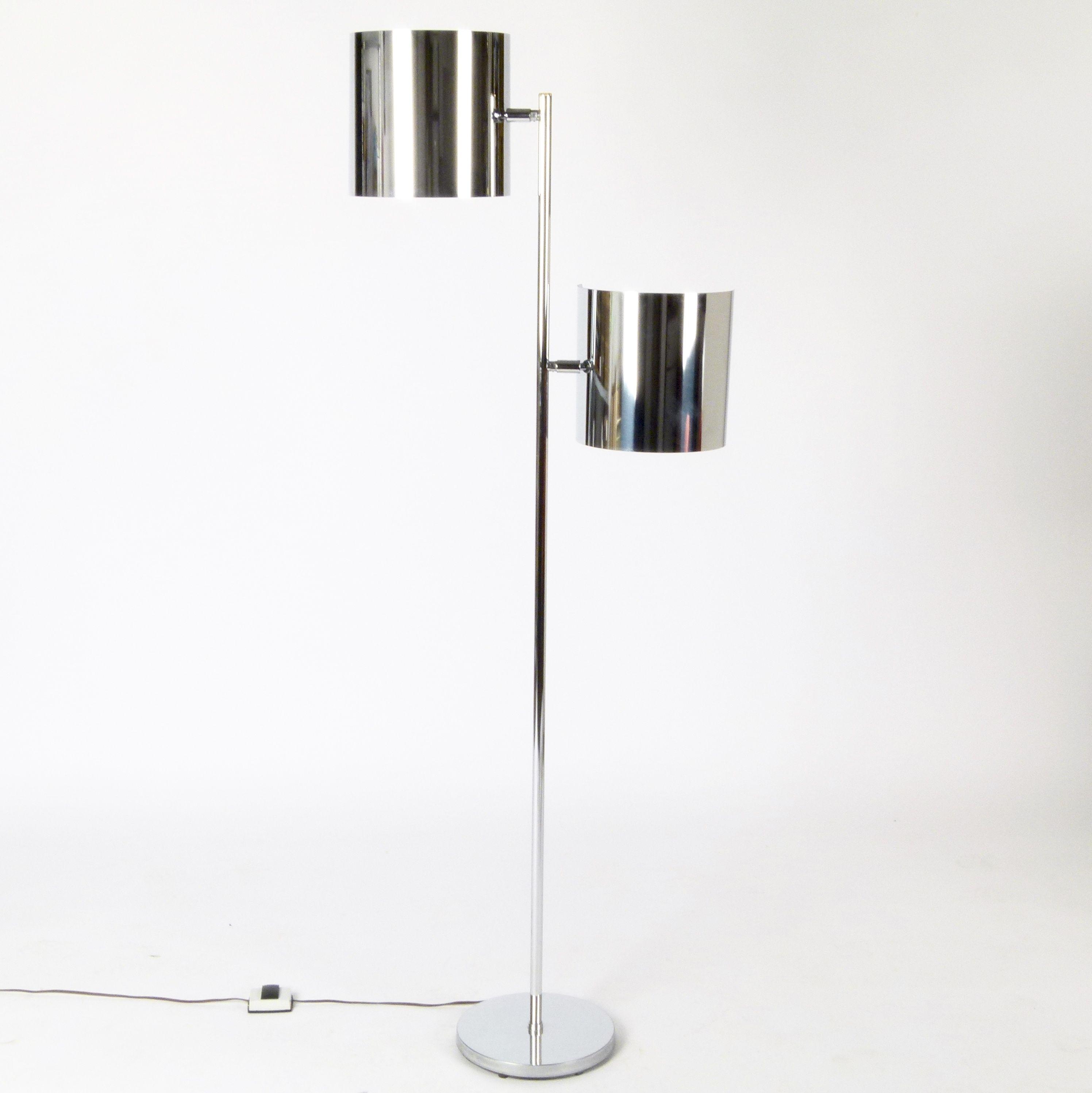 1960s Chrome Floor Lamp at City Issue Atlanta | Mid century Modern ...