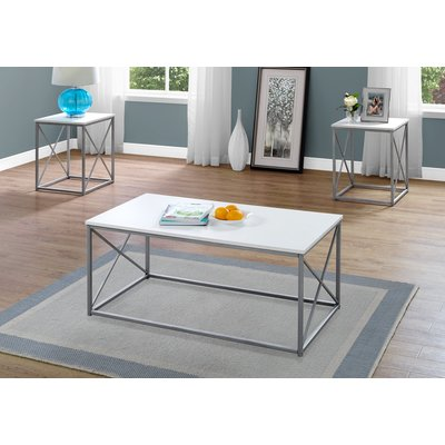 Ebern Designs Calzada 3 Piece Coffee Table Set Pinterest