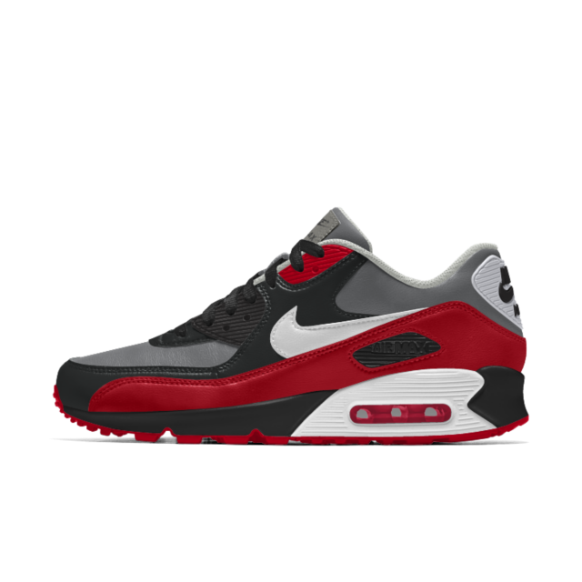Nike Air Max 90 Leather Black Solezilla