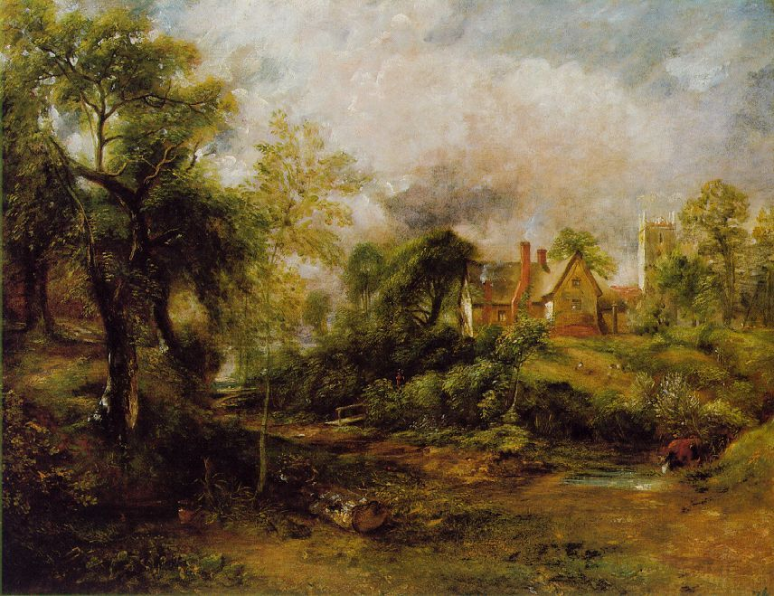 John Constable Famous Paintings Painting By John Constable
