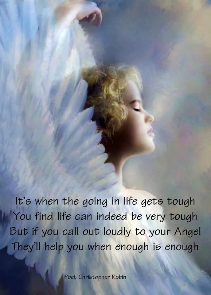 The angels through the eyes of a child...