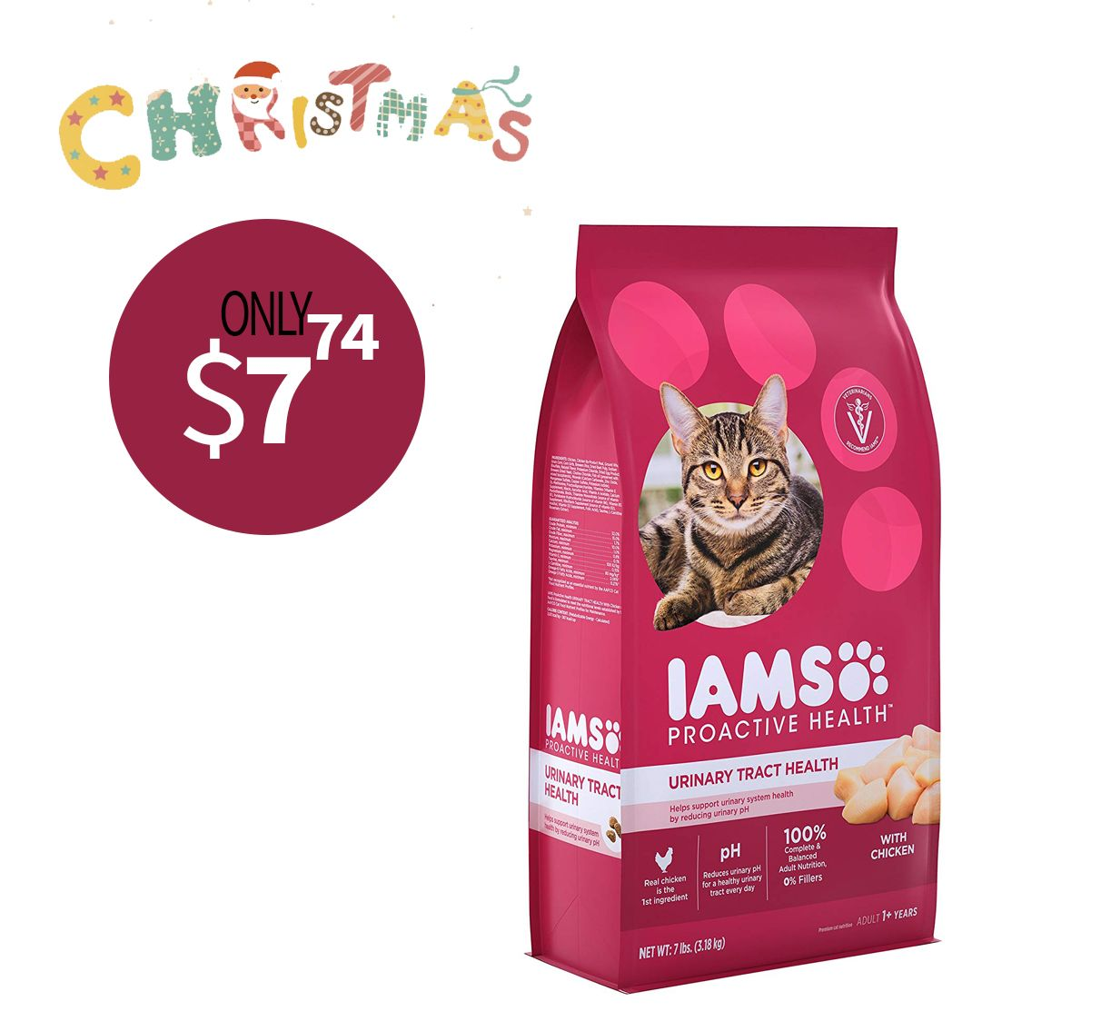 Contains One 1 3 5 Lb Bag Of Iams Proactive Health Adult