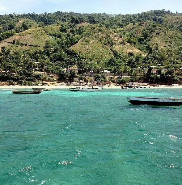 Ile De La Tortue, Haiti / Island Of The Turtle.