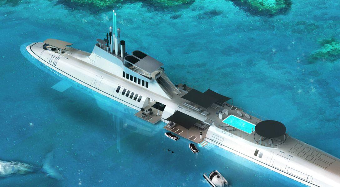Migaloo Submarine Superyacht 1 Great Ideas