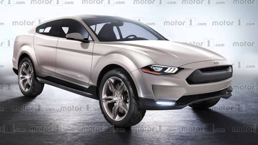 This Is What Ford S Mustang Based Electric Suv Might Look Like