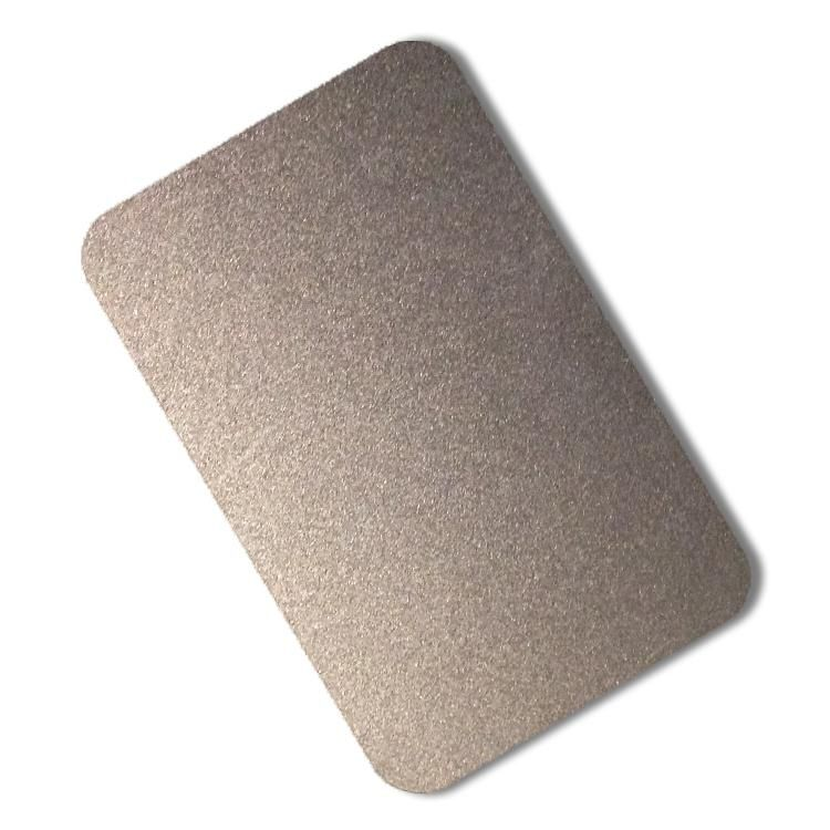 Sandblasted stainless steel sheets, Surface Finish Stamp Finish