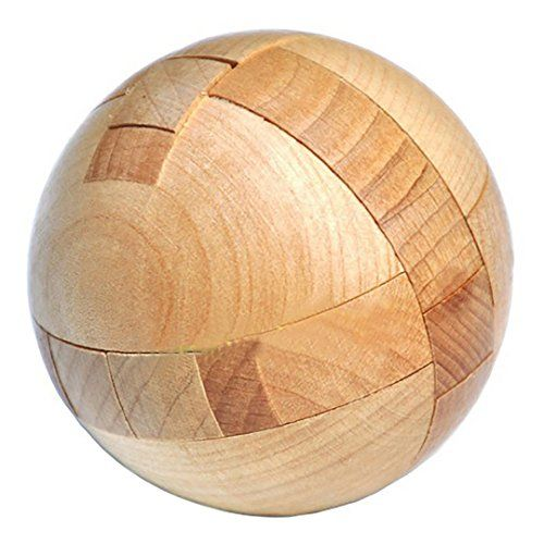 Kingou Wooden Puzzle Magic Ball Brain Teasers Toy Intelligence Game Sphere Puzzles For Adults Kids Tag A Wooden Puzzles Brain Teaser Puzzles Brain Teasers