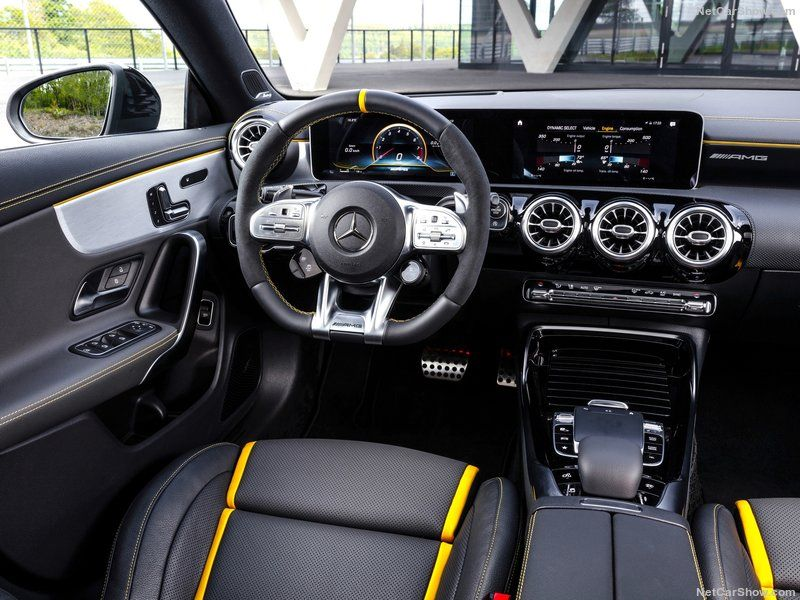 Amg Cla 45s Interior With Images Mercedes Amg Mercedes