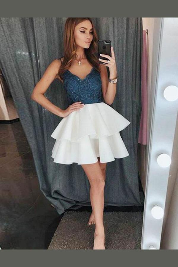 9d61cadb78 Cheap Absorbing Homecoming Dresses With Appliques