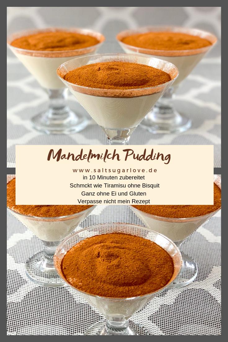Mandelmilch Pudding