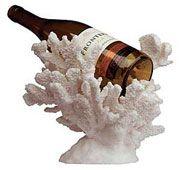 coral wine holder