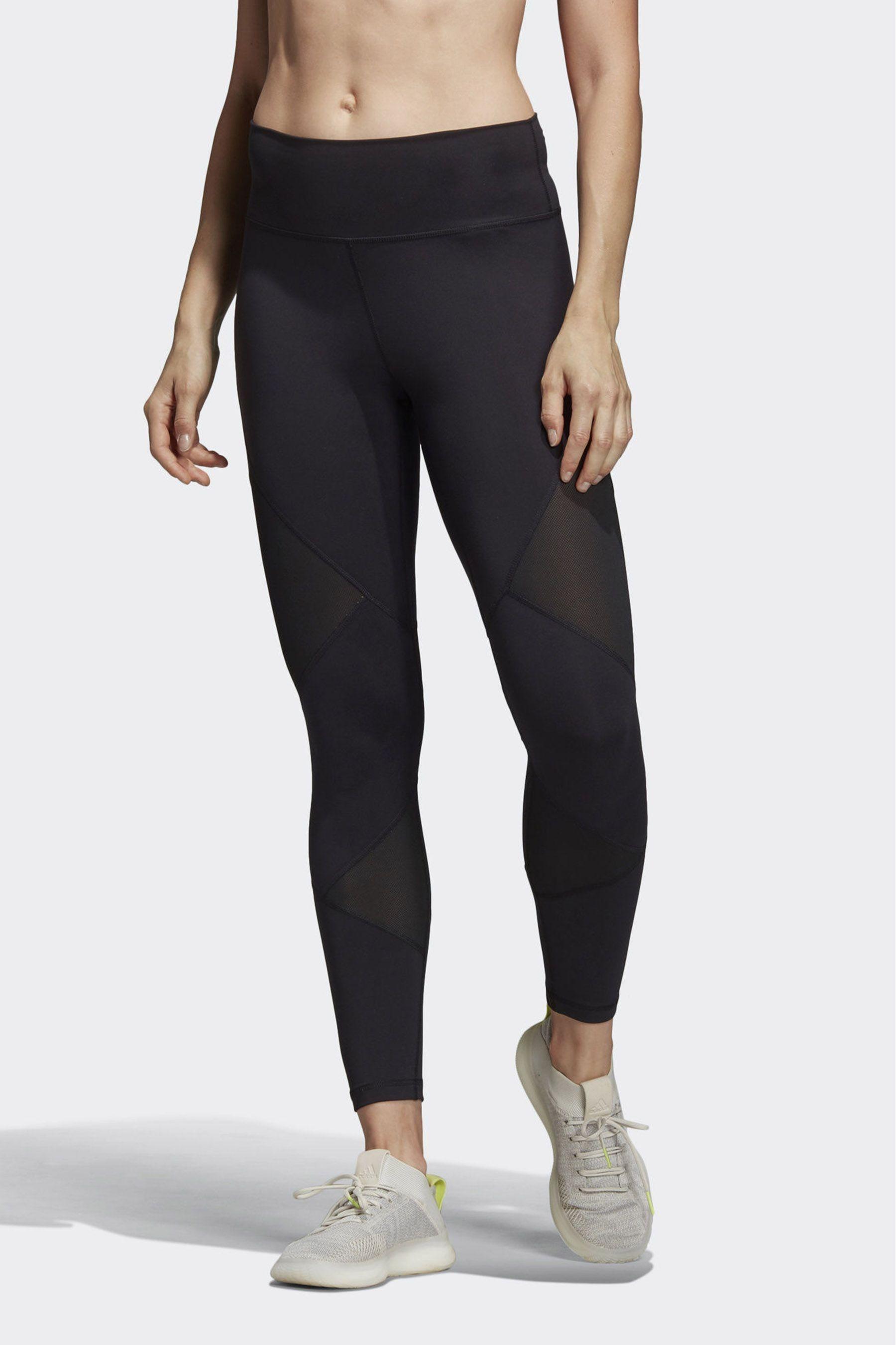 adidas Believe This High Waist 3 Stripe Leggings Black