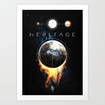 Heritage Art Print by Diogo Verissimo - $15.00