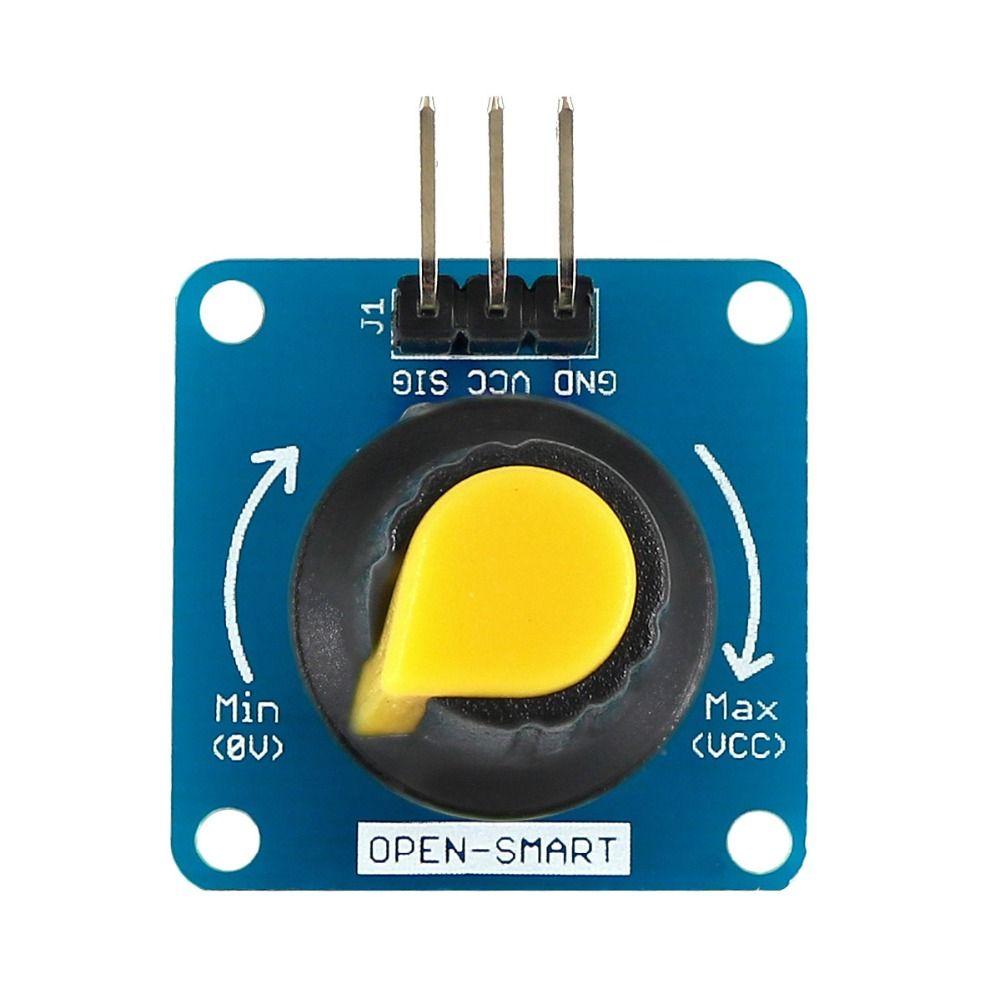 Rotary Angle Sensor Module Light / Volume Control for Arduino ...