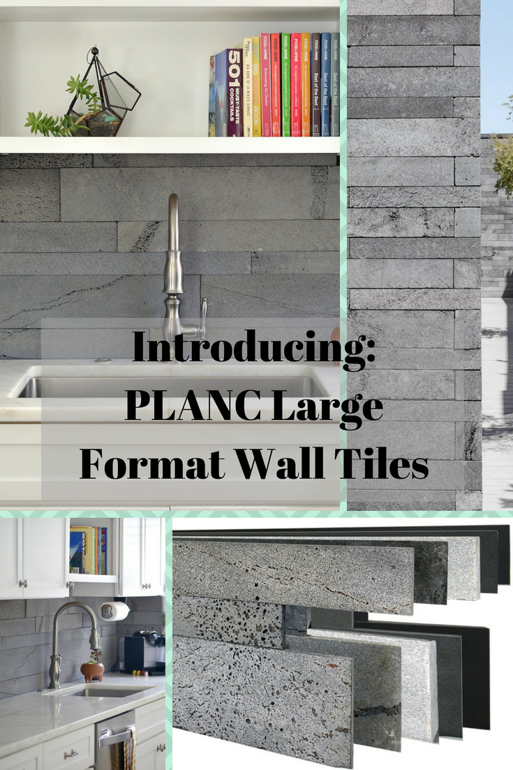 Our New Planc Series Has Gotten Us More Excited Than Any Other Product We Ve Ever Launched Check Out This W Stone Tile Wall Renovation Room Makeover