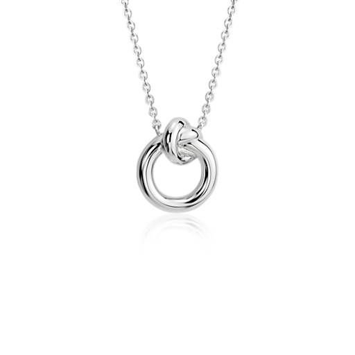 48a46264e40d34 Amity Love Knot Necklace in Sterling Silver | #presentsforchristine ...