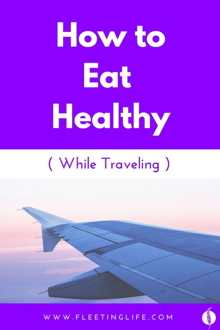 Every Foodie's Dilemma: How to Maintain a Healthy Lifestyle While on the Road    #travel #digitalnom...