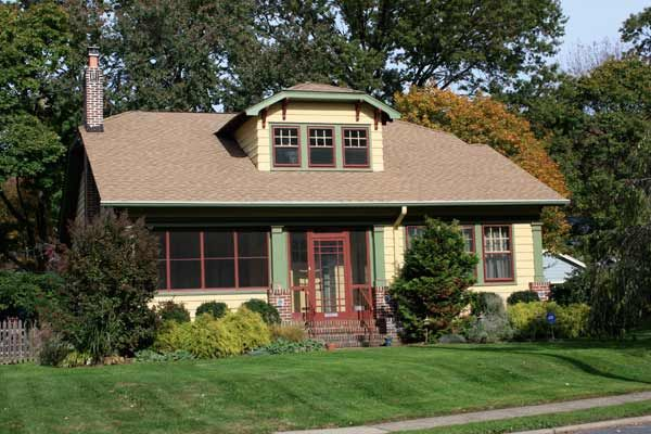 Attractive Paint Color Ideas For Craftsman Houses