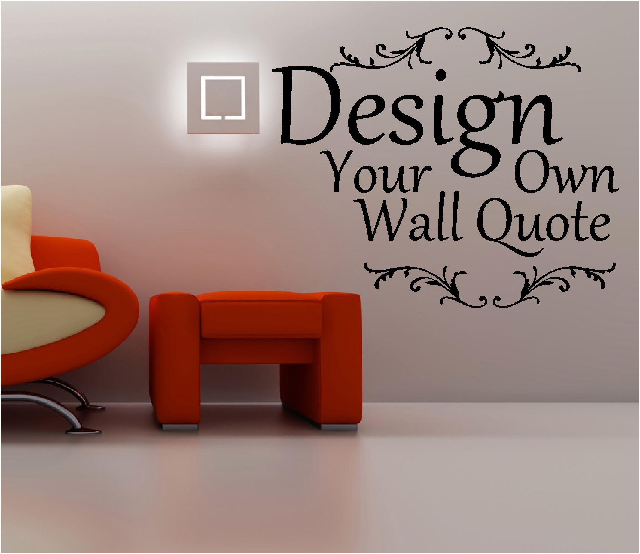 details about design your own wall quote art up to words