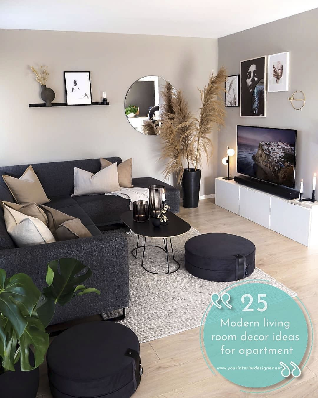 Schöne 15 Ideen Wohnzimmer Dekor Wohnung