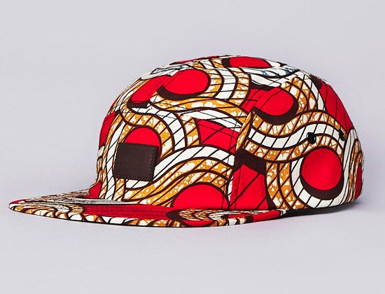 African Pattern 5 Panel Hat By Flatspot X Less African Pattern 5 Panel Hat Pattern