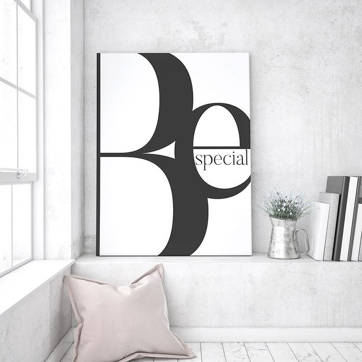 Be Special Art Print Hipster Interior Typography Prints Wall Decor