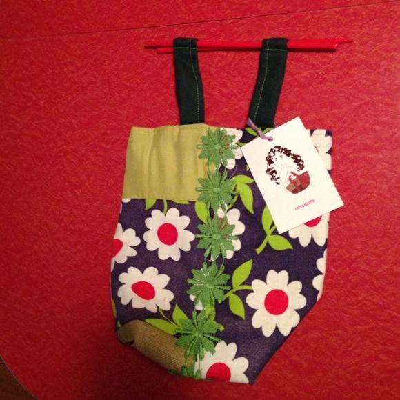 Handmade bag Handmade bag woth chopstick handles. Vintage materials! New! cocodette (handmade) Bags