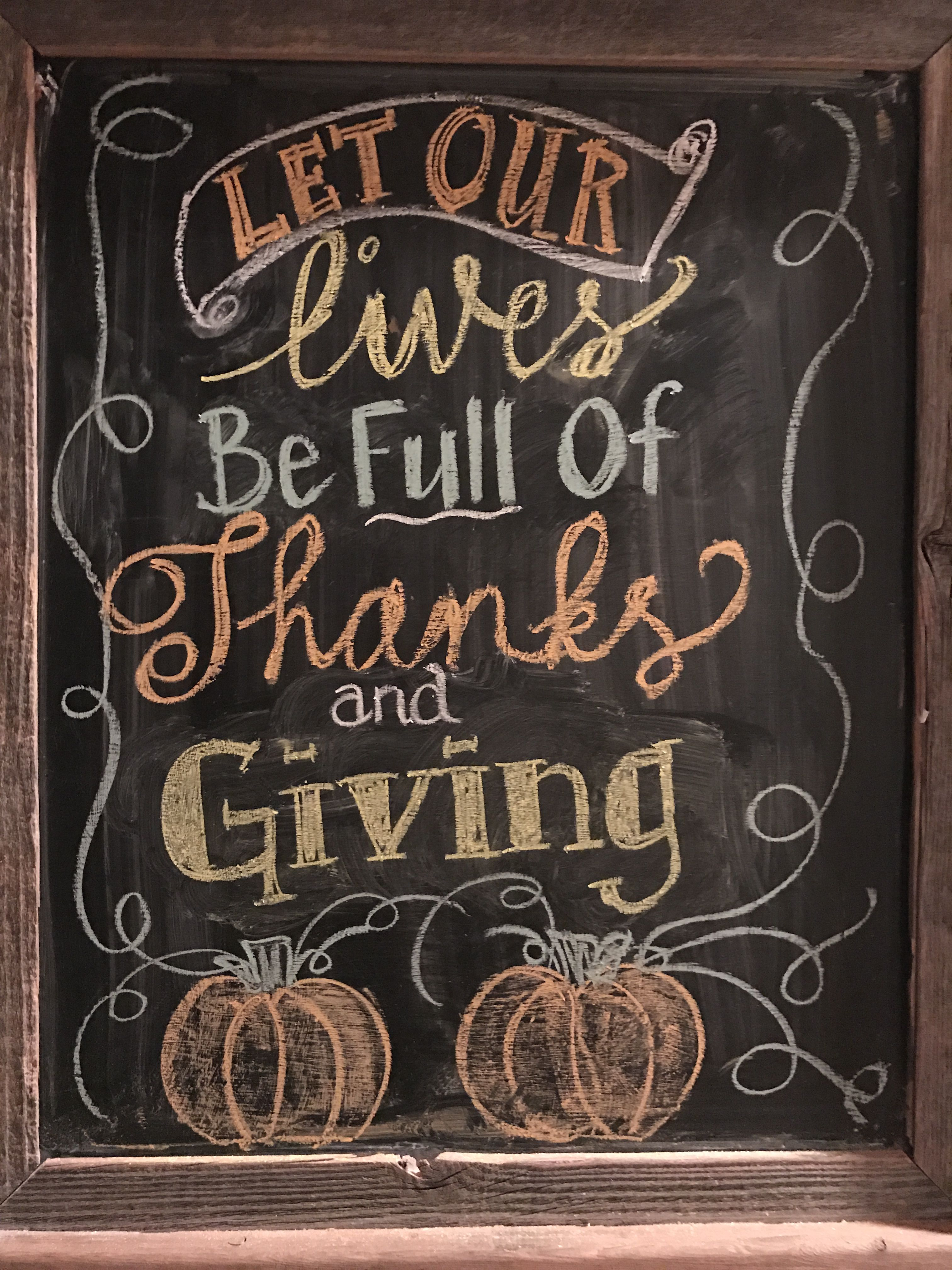 thanksgiving chalkboard art fall thanksgiving pinterest