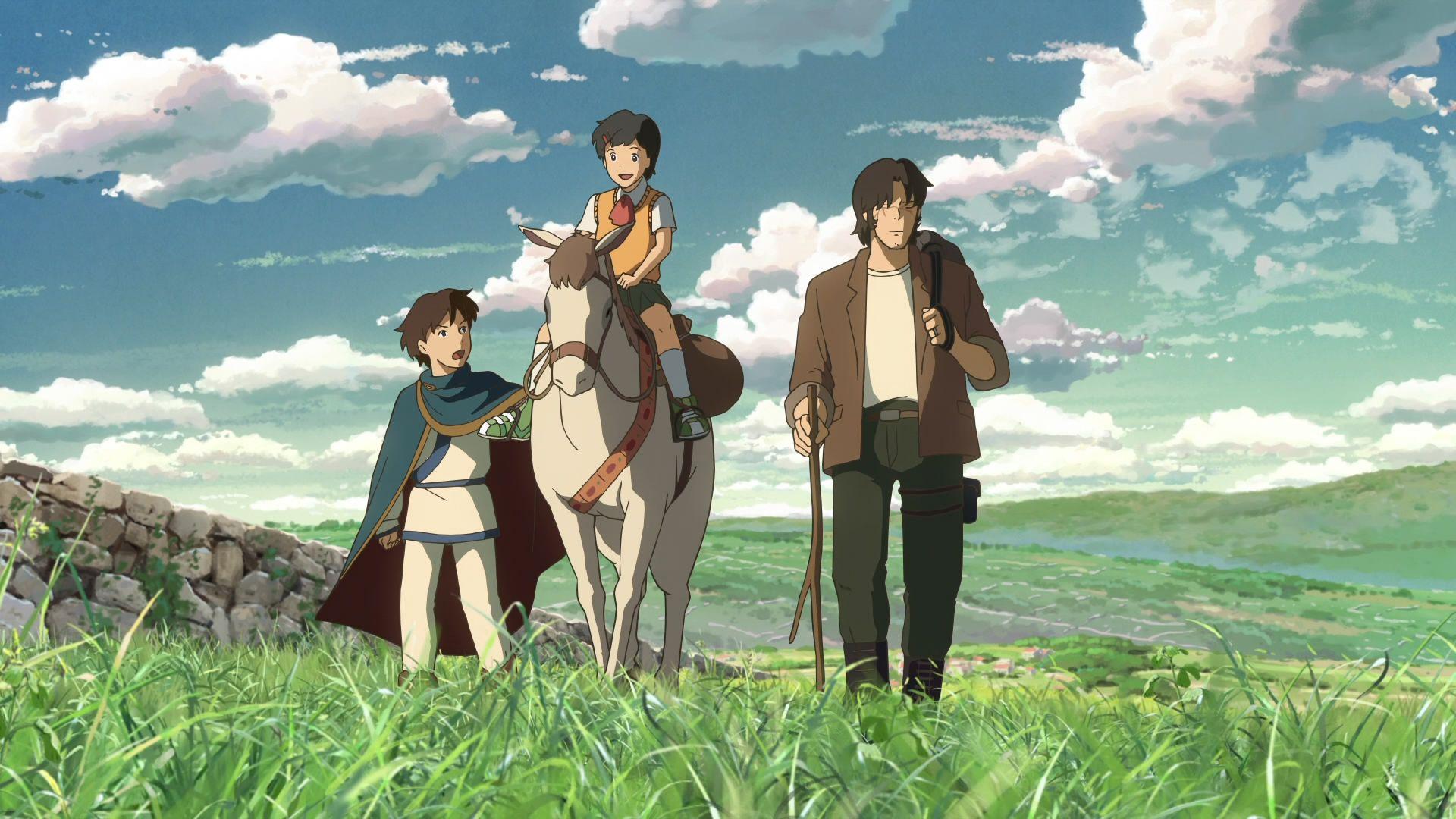 Kết quả hình ảnh cho Hoshi wo Ou Kodomo (Children Who Chase Lost Voices)