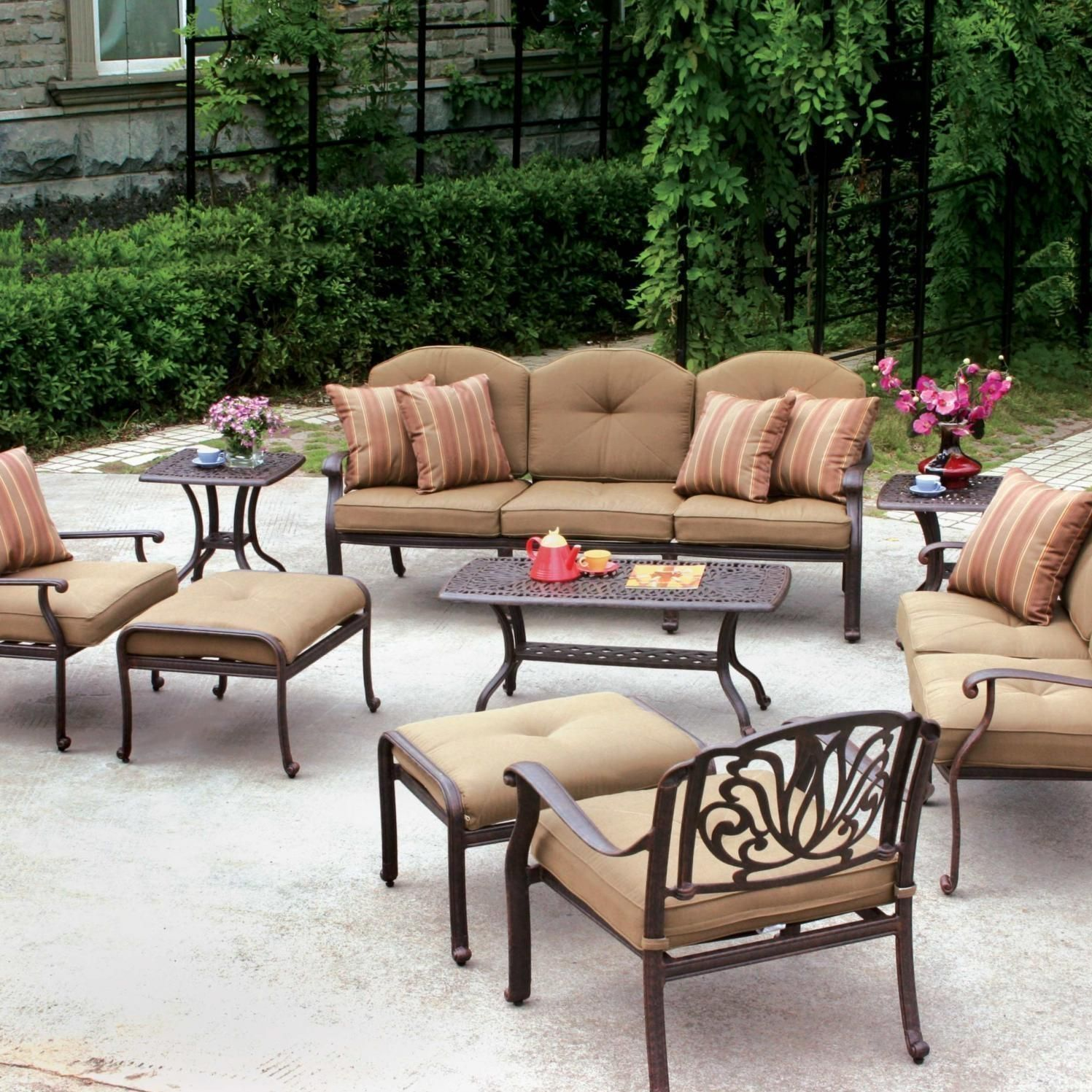 Captivating Patio Conversation Sets Clearance