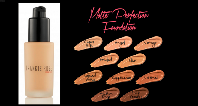 Nice! Free foundation samples from Frankie Rose that allow