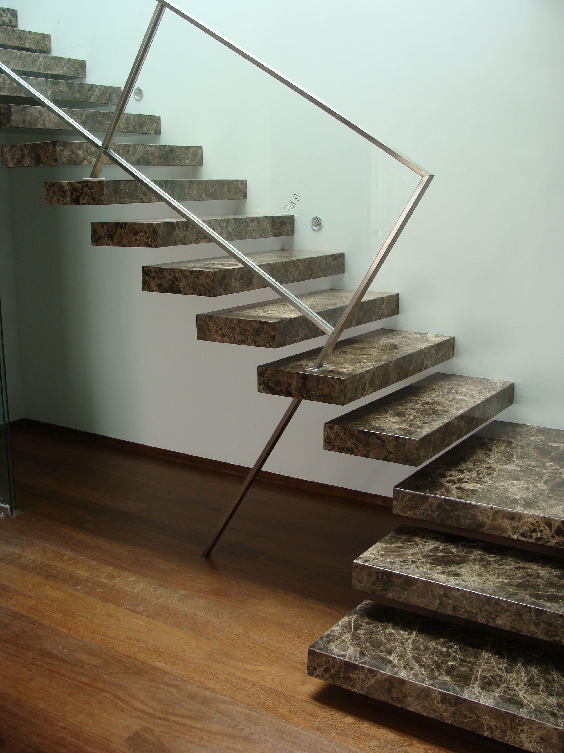 Escalier en pierre Imperador en mode suspendu | Escalier pierre ...