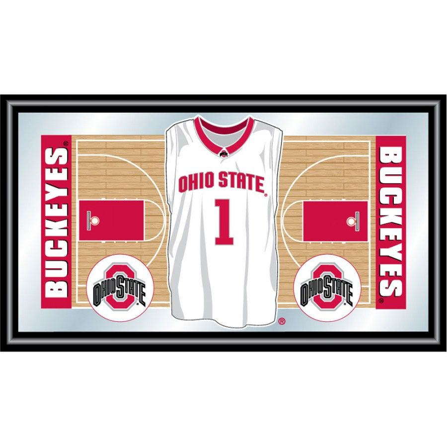 Trademark Global Ohio State University Basketball Framed Jersey ...