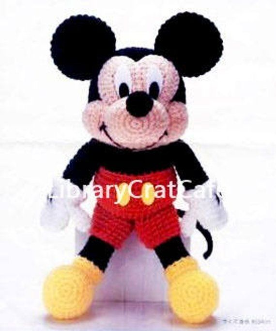 Crochet pattern, Miss Halloween doll with mouse pet (90)