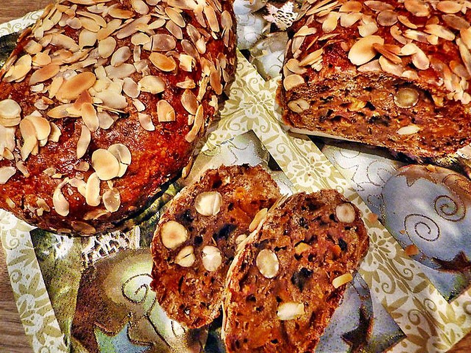 Allgäuer Apfelbrot | Brötchen, Weihnachtsbäckerei und Früchtebrot