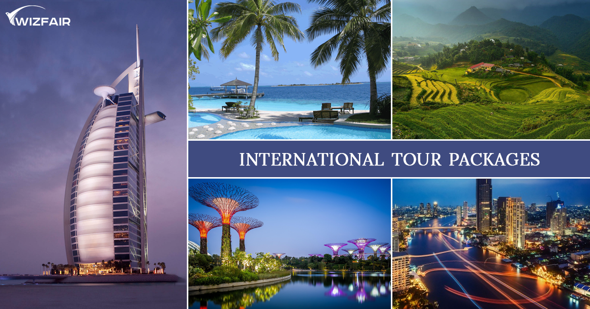 Top 5 Cheap International Tour Packages From India Tour Packages Tours International Holidays