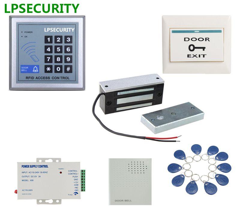 Best Offer Of Lpsecurity 60kg 12v Wooden Gate Door Electric Magnetic Lock Keypad Rfid Door Access Control Sys Access Control Access Control System Wooden Gates
