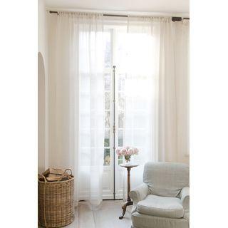 die besten 25 leinen gardinen ideen auf pinterest leinengardinen leinenvorh nge und grau. Black Bedroom Furniture Sets. Home Design Ideas