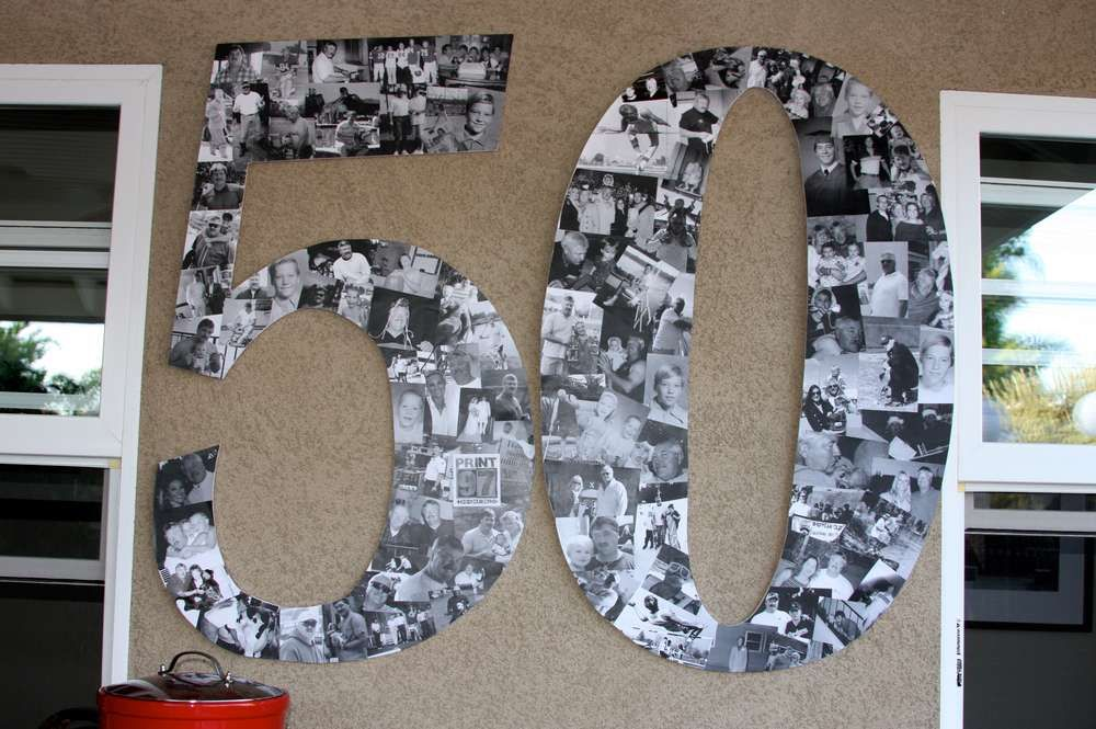 Tools birthday party ideas birthday party ideas 50th for Room decoration ideas for 50th birthday
